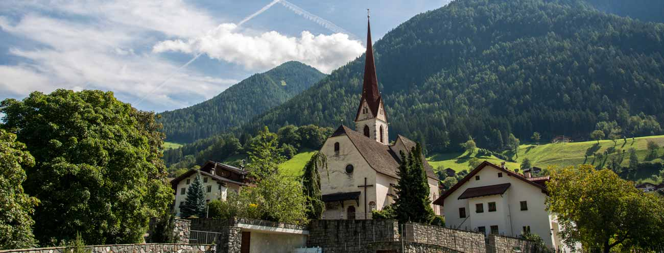 The Church of St. Leonhard im Passeiertal